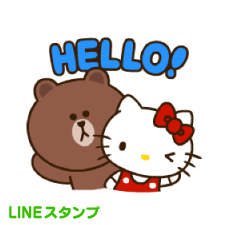【LINEスタンプ】LINE FRIENDS & HELLO KITTY vol.2 ※有料